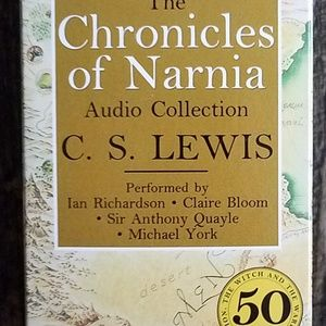 Audio cassettes Chronicles of Narnia